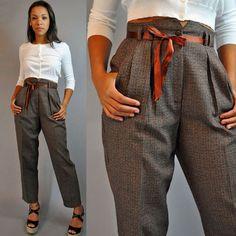 5 Ways to Brighten Your Back-to-Work Wardrobe Chic Outfits, Fashion Outfits, Womens Fashion, Female Fashion, Jw Moda, Detective Outfit, Estilo Tomboy, Slacks For Women, Vintage Outfits