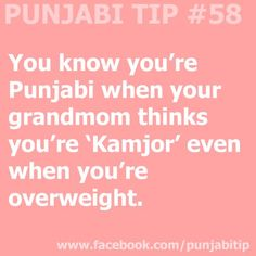 And we're back with Punjabi Tip #58