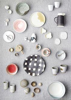 Ceramics layout from the Craft Shop Christmas catalogue 2012 via marinagiller.com