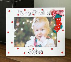 Personalised Christmas Photo Frame
