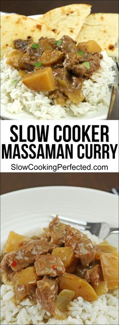 Flavor Packed Slow Cooker Massaman Curry