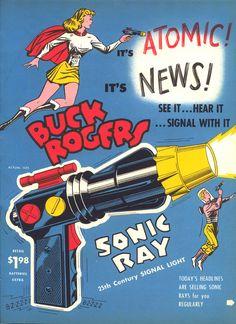 1949 BUCK ROGERS SONIC RAY GUN