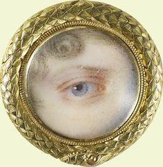 Eye of Princess Charlotte of Wales