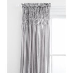 Heirloom Voile Curtain Panel by Pine Cone Hill Gray - PC1080-PNL4296
