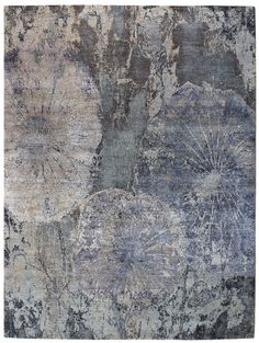 Recent Arrivals Gallery: Patinated-Look Rug, Hand-knotted in India; size: 9 feet 0 inch(es) x 11 feet 10 inch(es)