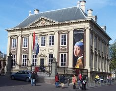 Mauritshuis, a small jewel of a museum with Vermeers on view, including Girl with a Pearl Earring.