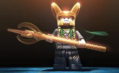 Lego Marvel Super Heroes Loki!