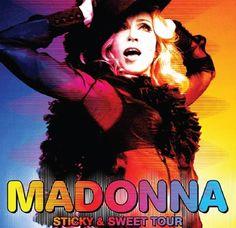 Madonna Sticky & Sweet Tour Wembly Stadium London Thursday 11 September 2008