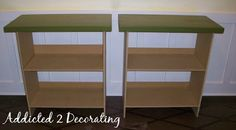 How To Make Your Own Decorator Table (2 for $25) ... Just add a fabric skirt!