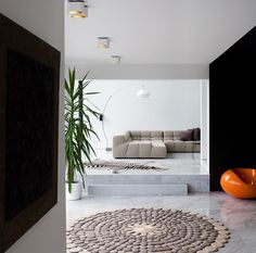 Modern interiors captured by Tim Van de Velde