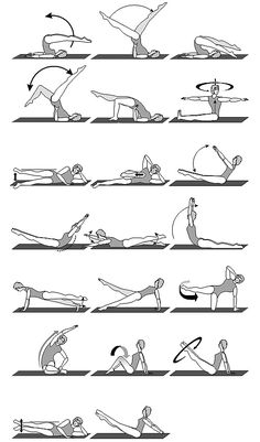 Try these basic Pilates moves for increased flexibilty and toning.