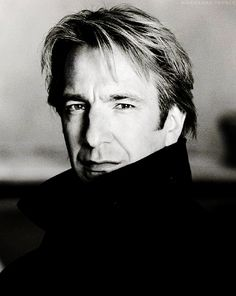 """Alan Rickman  Great actor, love his voice, and really, he's cute. Too bad he's mostly cast as the """"bad"""" guy. And we have the same birthday....February 21st, very cool!!"""