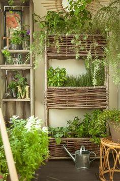 Jardinière, pot de fleurs pour terrasse ou balcon très déco - Cotemaison.fr