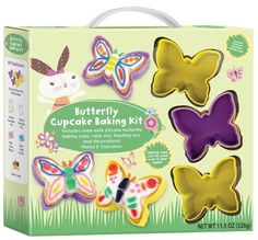 Butterfly Cupcake Baking Kit Party Supplies Yellow >>> For more information, visit image link.(This is an Amazon affiliate link and I receive a commission for the sales)