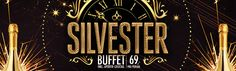 Our Silvester Buffet: We're celebrating the new year! Pop Bottles, Bar, Neon Signs, Soda Bottles