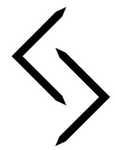 """""""You reap what you sow.""""  - Rune symbol"""