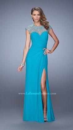 La Femme 21246 | La Femme Fashion 2014 - La Femme Prom Dresses - La Femme Cocktail Dresses