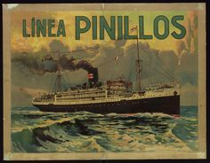 """Línea Pinillos"", 1920s. Courtesy of the Biblioteca de Catalunya (http://www.bnc.cat). (Rights Reserved - Free Access) http://www.europeana.eu/portal/record/91906/F71B705C8DE0F7227C5EF261F12FF24622ACF934.html"