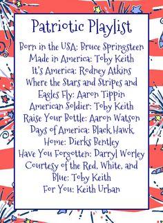 Patriotic Playlist