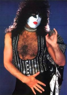 Paul Stanley Costume | My Halloween costume was cut a little higher