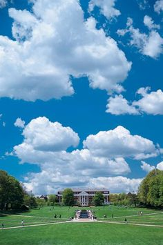 McKeldin Mall--UMD. This is really a good picture that captures how pretty it is