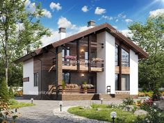 26 New Ideas For Exterior De Casas Campestres Brick House Colors, Exterior Paint Colors For House, Modern Exterior, Exterior Design, Home Exterior Makeover, House Front Design, Craftsman House Plans, Facade House, House Layouts