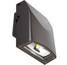 Spring Lighting Group WSA 45 G1 5K 40W LED Slim Wall Pack, 5000K - A variety of LED light fixtures from Spring Lighting Group (SLG) is now available through Major Electronix, including this slim wall pack. It features a low profile housing and is adjustable up to 20 degrees #SLGLighting #LEDLighting #LEDLightFixtures
