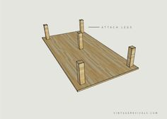 """possibility for platform couch - would be fairly easy - 2 pieces of plywood cut to measure 78"""" x 41"""" and five heavy duty top plates and legs... hrmmm."""