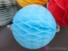 Wabenball+mini+5cm+von+La+Botones+auf+DaWanda.com