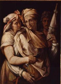 Francesco Salviati - The Three Fates - 1545. After Michelangelo