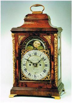 A Bracket Clock, by Simeon Bates.(London) ca.1770.