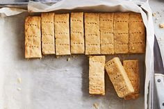 Shortbread Cookies—The holidays wouldn't be complete without sweet, buttery shortbread, so we've perfected a classic. This one has a crispy snap but still melts delicately in your mouth.