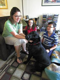Last week, the Van Riper family was preparing for a deployment. But it wasn't their Soldier who was leaving for a mission. Rather, it was their dog, Rory. The 1-year-old black Labrador retriever is a member of an elite dog corps that works as service dogs – including guide dogs, veteran assistance dogs and therapy dogs.  Best of luck to Rory from the folks here at Allie Smiles! Click the comments section to continue reading about Rory.