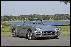 1958 Chevrolet Corvette Resto Mod LS2, 6-Speed presented as lot S140 at Kissimmee, FL 2013 - image1