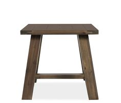 Boston Interiors Sinclair end table, The Sinclair is constructed of solid acacia wood in a smooth oil based finish