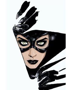 Catwoman by Joelle Jones * Catwoman Comic, Batman And Catwoman, Batgirl, Gotham Batman, Batman Art, Batman Robin, Comic Book Characters, Comic Books, Catwoman Selina Kyle