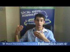 www.FollowNick.com 4. Don't push your brand on your personal profile - Facebook Marketing About Facebook, Free Courses, Facebook Marketing, Social Media, Youtube, Fans, Profile, Posts, Create