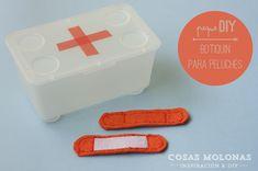 Peque-DIY: Botiquín de primeros auxilios para peluches