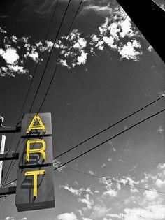 art - in the sky