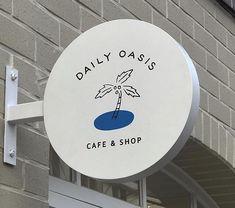 Cafe Signage, Wayfinding Signage, Signage Design, Cafe Design, Coffee Shop Signs, Coffee Shop Logo, Brand Identity Design, Branding Design, Sign Board Design
