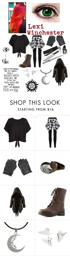 """""""Lexi Winchester"""" by sup-its-alex-peace ❤ liked on Polyvore featuring New Look, Nicholas K, Charlotte Russe, Carolina Glamour Collection and Kasun"""