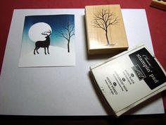 stampin up branch out stamp set | ... snowflakes from the Stampin' UP set Branch Out with White Craft ink