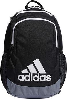 adidas unisex-child Kids-Boy's/Girl's Young Creator Backpack #afflink Adidas Backpack, Black Backpack, Issey Miyake, Black Kids, Black And Grey, Young Black, Color Black, Adidas Kids, Adidas Fashion