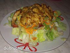 Šalát z lásky - Recept je podobný Cézarovemu šalátu, len je zjednodušený. Je nenáročný, ideálny na ľahkú večeru. Má málo kalórií a je veľmi... Salads, Pork, Chicken, Meat, Kale Stir Fry, Pork Chops, Salad, Chopped Salads, Cubs