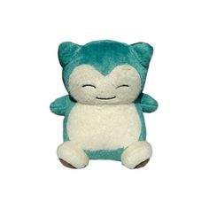 """::Toy Store Inc.:: Pokemon Poke Doll 6"""" Snorlax Plush ❤ liked on Polyvore featuring fillers, plushies, pokemon, stuffed animals and toys"""