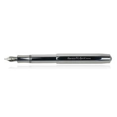 Aluminum Fountain Pen Silver Raw