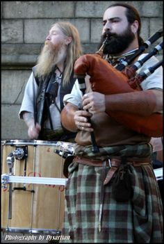 The world needs more bearded men in kilts /sarongs/ pants alternatives.