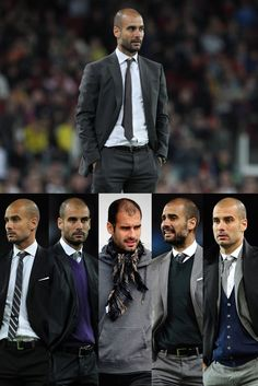 oh man, he's got style! # Pep Guardiola