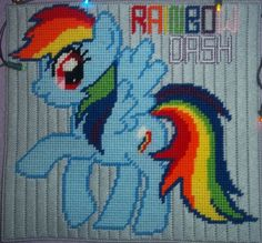 my little pone plastic canvas patters | Found on rosewriter666.deviantart.com