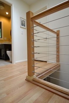 Stainless Steel Cable Railing modern staircase